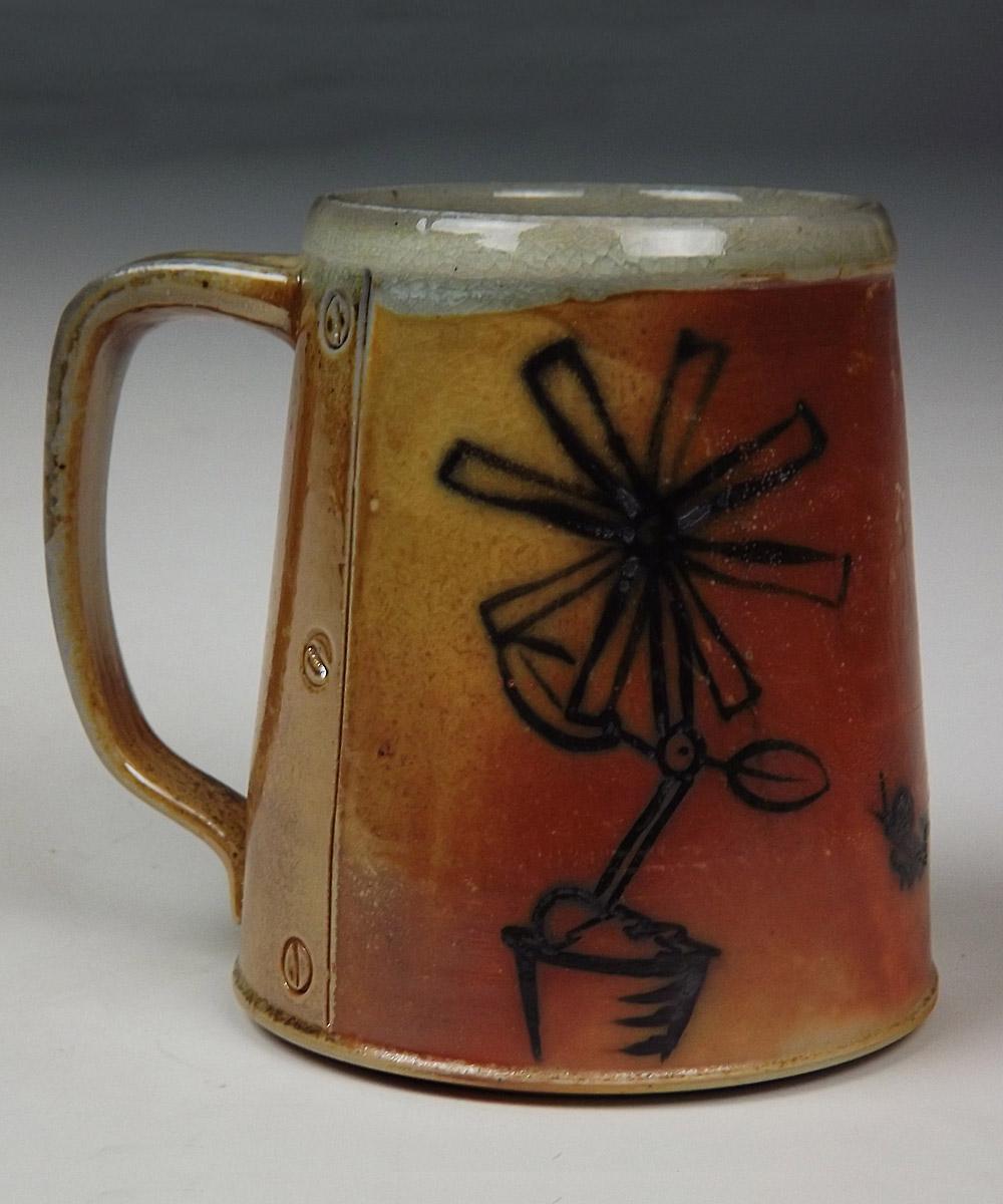 Mechanical Flower Mug
