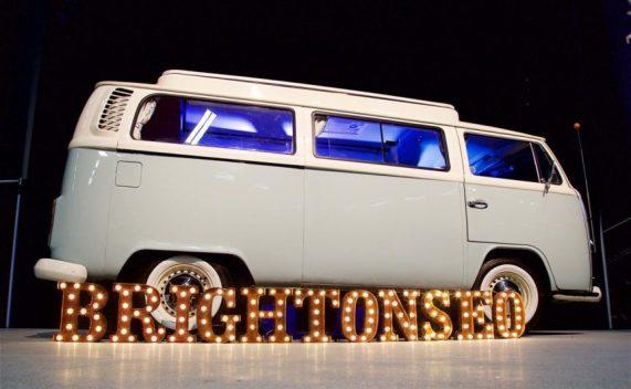 BrightonSEO VW van