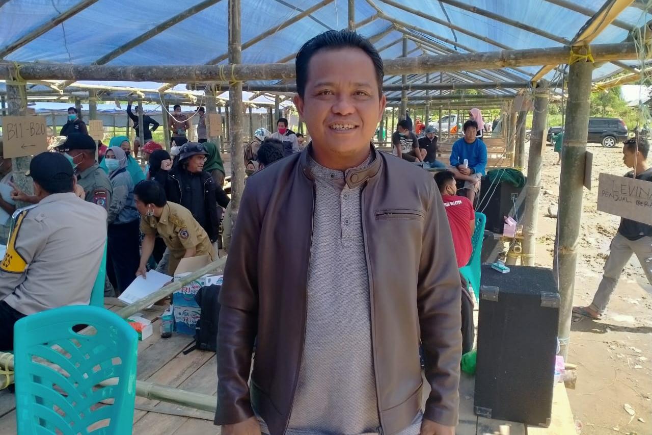 Pembukaan Pasar Tradisional Buntu Buda Suhadi: Setelah di Relokasi Pemerintah Harus Tetap Memperhatikan Pedagang