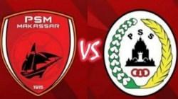 Babak Pertama Brakhir PSM Tertinggal 1-0 Dari PSS Lewat Gol Pinalti