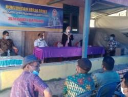 Reses Ismiwati Ramlan Anggota DPRD Prov Sulbar di Desa Mesakada