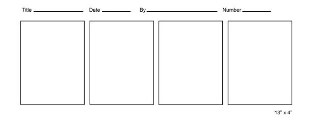 Blank comic template 4
