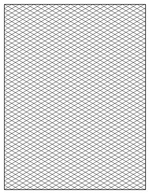 printable isometric graph paper pdf
