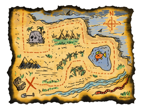 treasure maps for kids