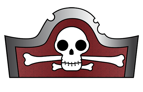 pirate party hats for kids
