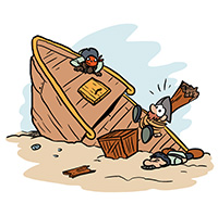 pirate scavenger hunt for kids