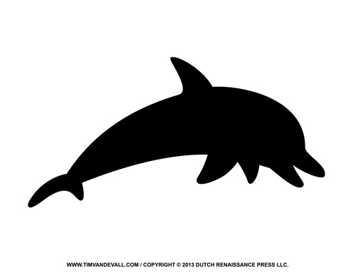 Dolphin-Silhouette