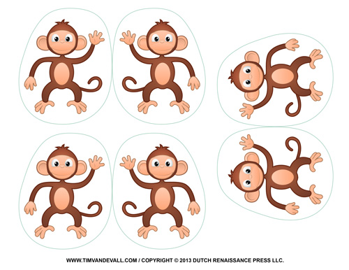 Monkey Decorations