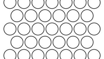circle templates - 3 5 Inch Circle Template