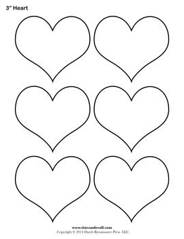 blank heart templates printable heart shape pdfs
