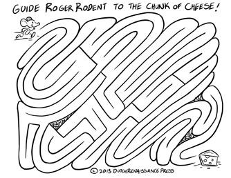 cartoon maze