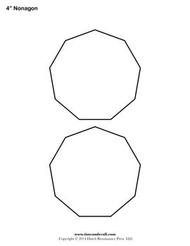 Nonagon Sheet