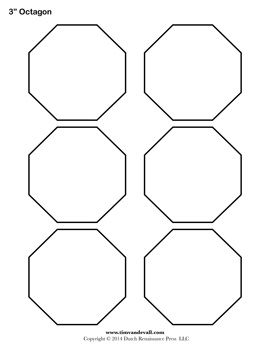 Printable OctagonTemplates