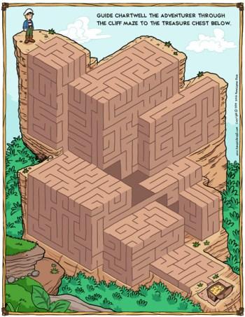 maze printable