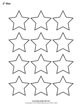 Printable Star Outline