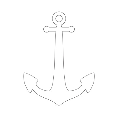 anchor outline