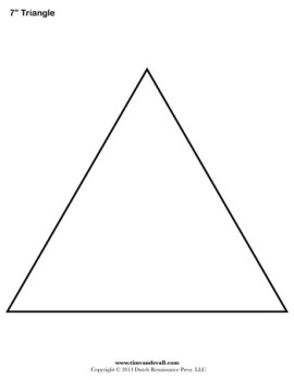Shocking image with regard to triangle printable