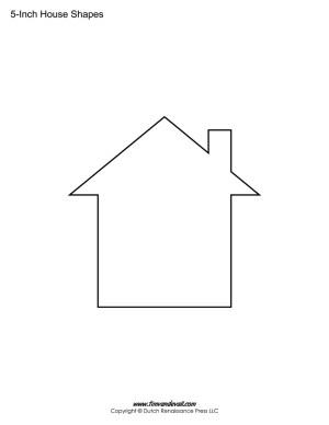 blank house template