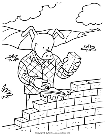 Brick-Pig-Coloring-Page-350