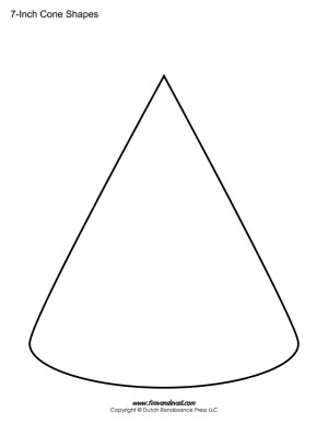 Cone outline