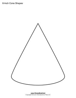 Cone shape stencil