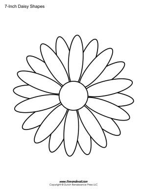 Daisy outline