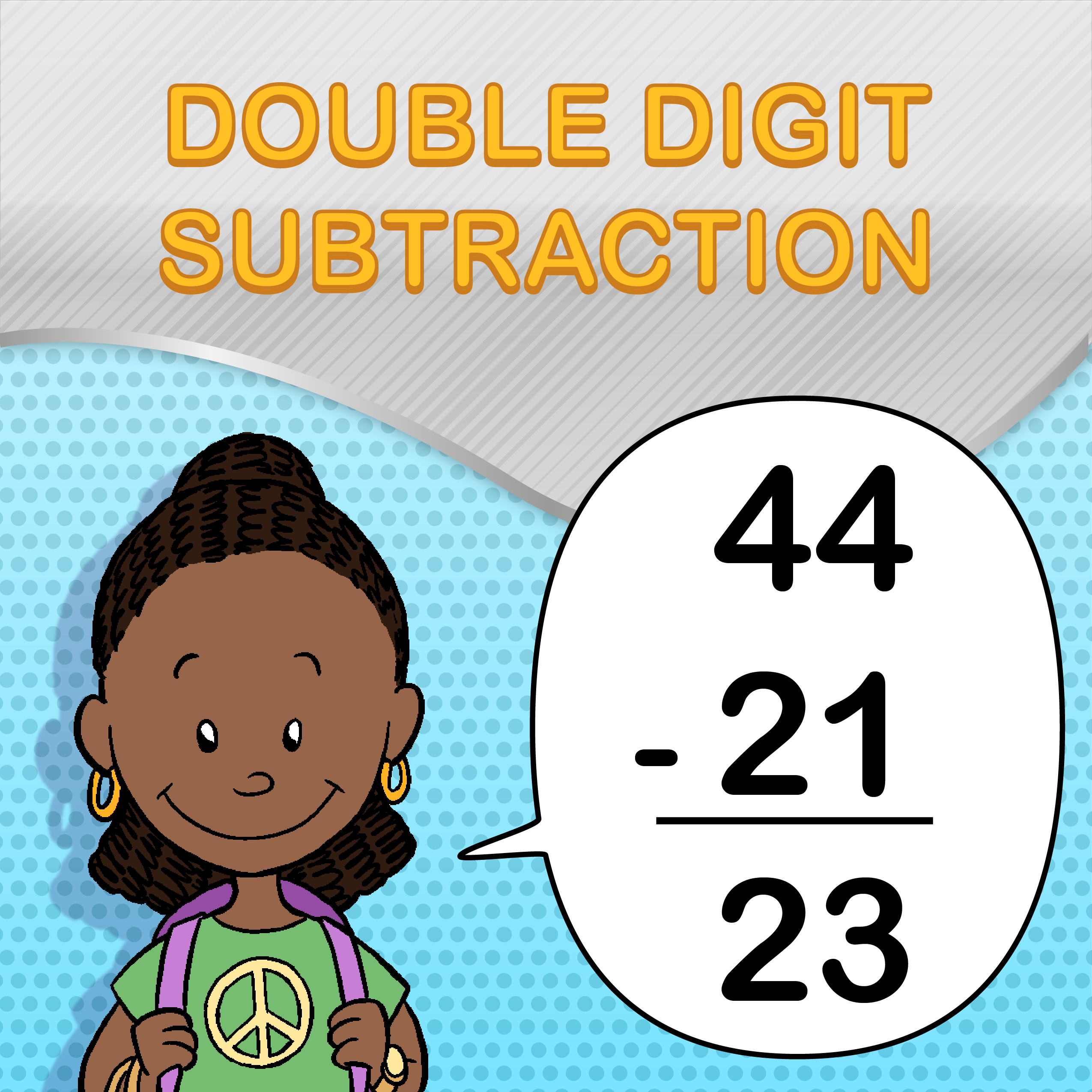 Free Double Digit Subtraction Worksheets For Students And