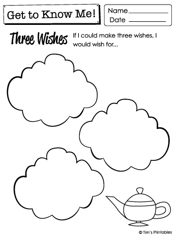 Printable Get to Know Me Questions Worksheets & List PDF