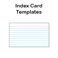 3 x 5 index card template word