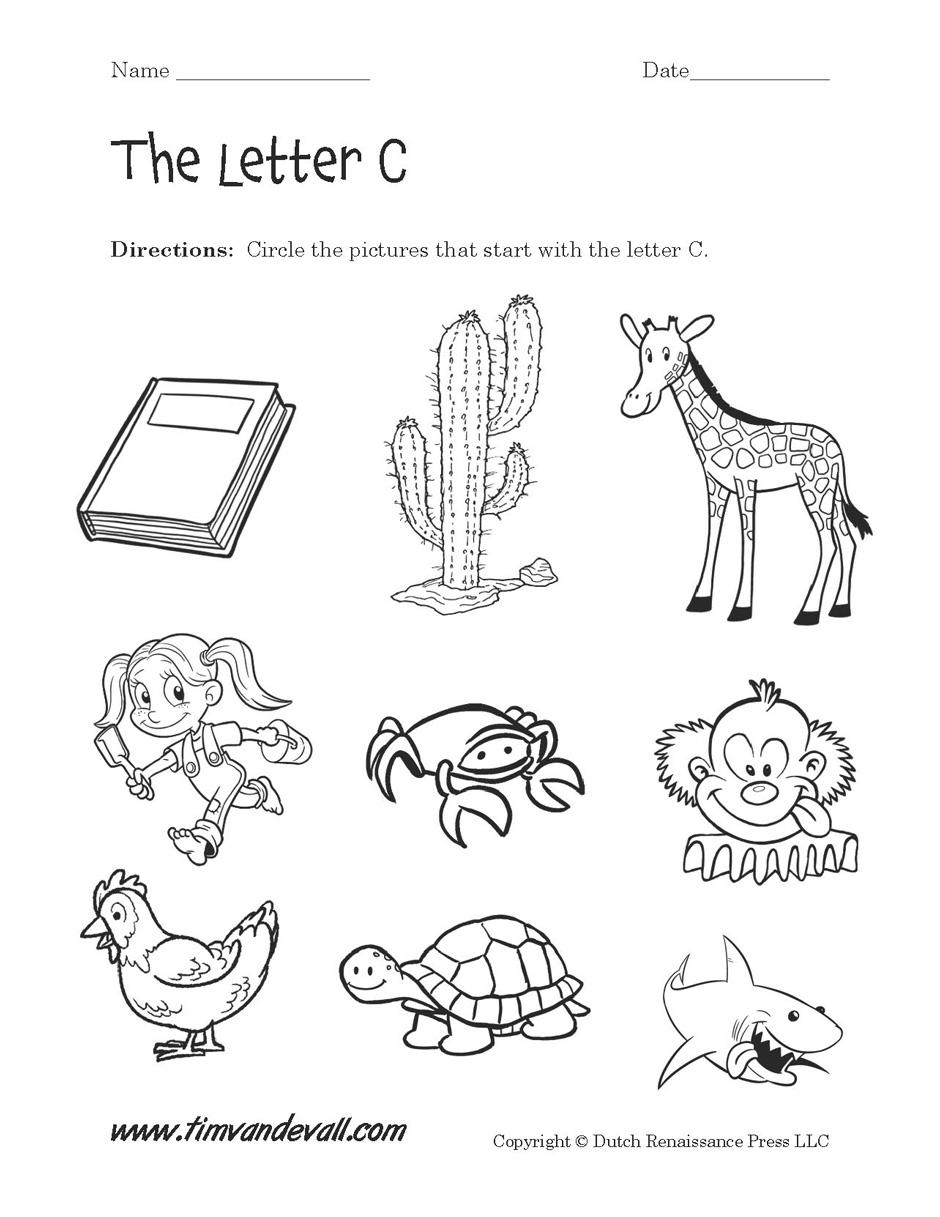 - Letter-C-Worksheet-02 - Tim's Printables