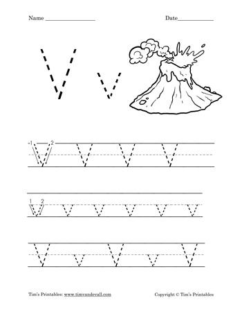 letter v worksheet tim 39 s printables. Black Bedroom Furniture Sets. Home Design Ideas