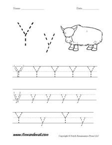 Letter-Y-Worksheet-01