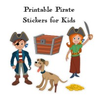 printable pirate stickers
