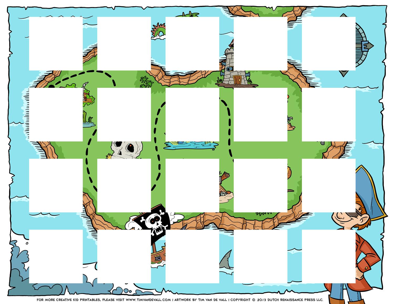 Pirate Puzzle Board