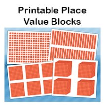 place value blocks