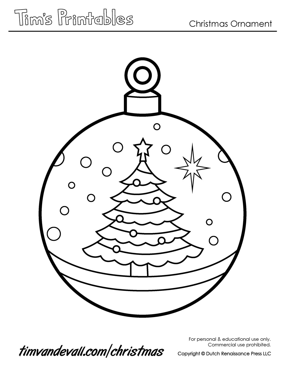 picture relating to Printable Ornament Templates named printable xmas ornaments templates - Kadil