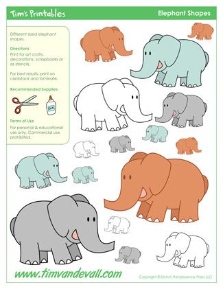 Elephant Templates