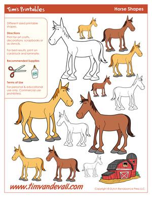 Horse Shapes
