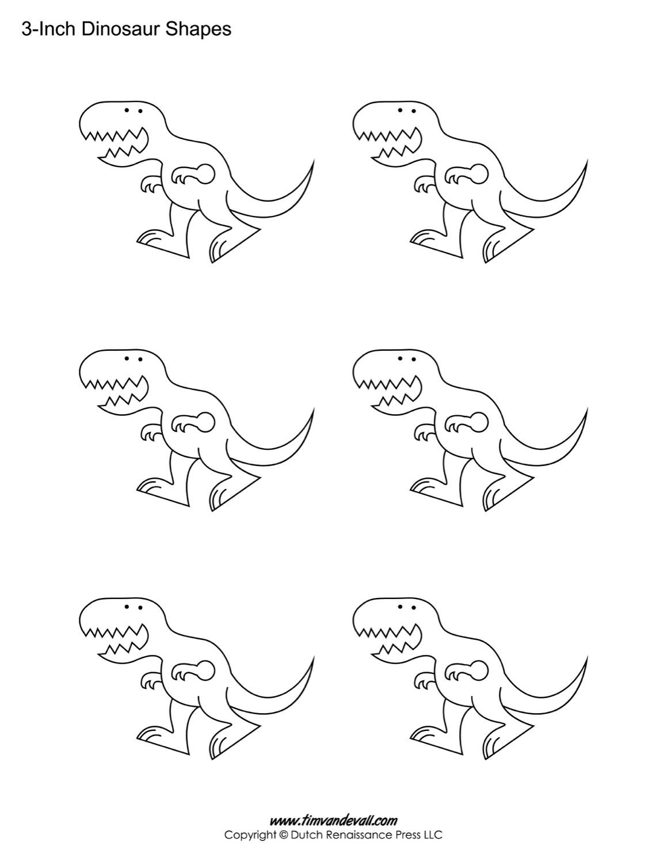 Dinosaur Templates
