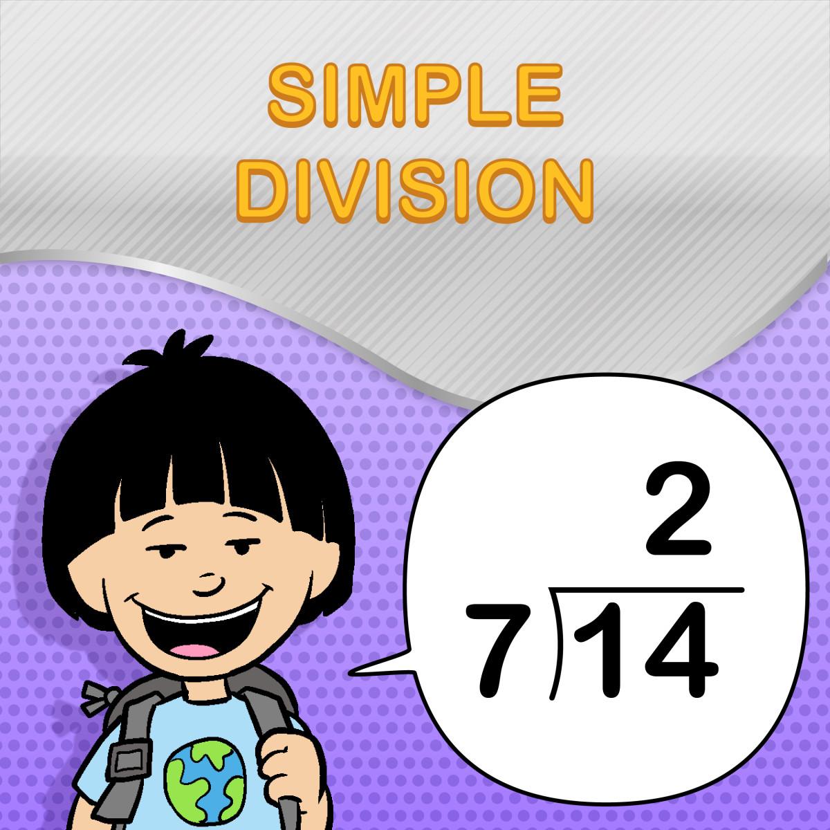 Simple Division Worksheets For Kids