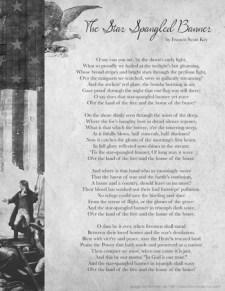 Star Spangled Banner Lyrics