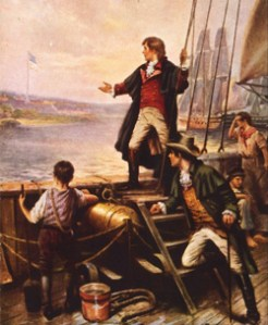 The Star Spangled Banner Painting