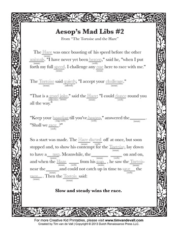 Critical image within printable mad libs pdf