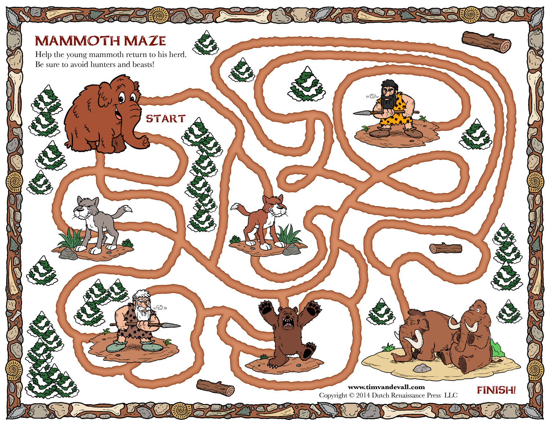 Woolly Mammoth Maze