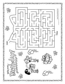 Birthday Maze
