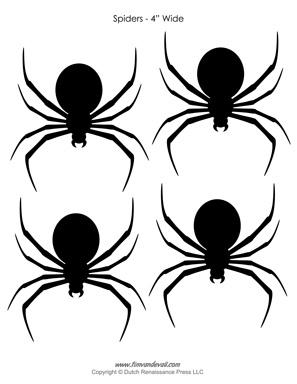 Black Widow Silhouette