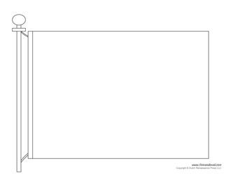 Blank Flag Template