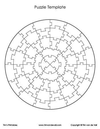 circular puzzle piece template