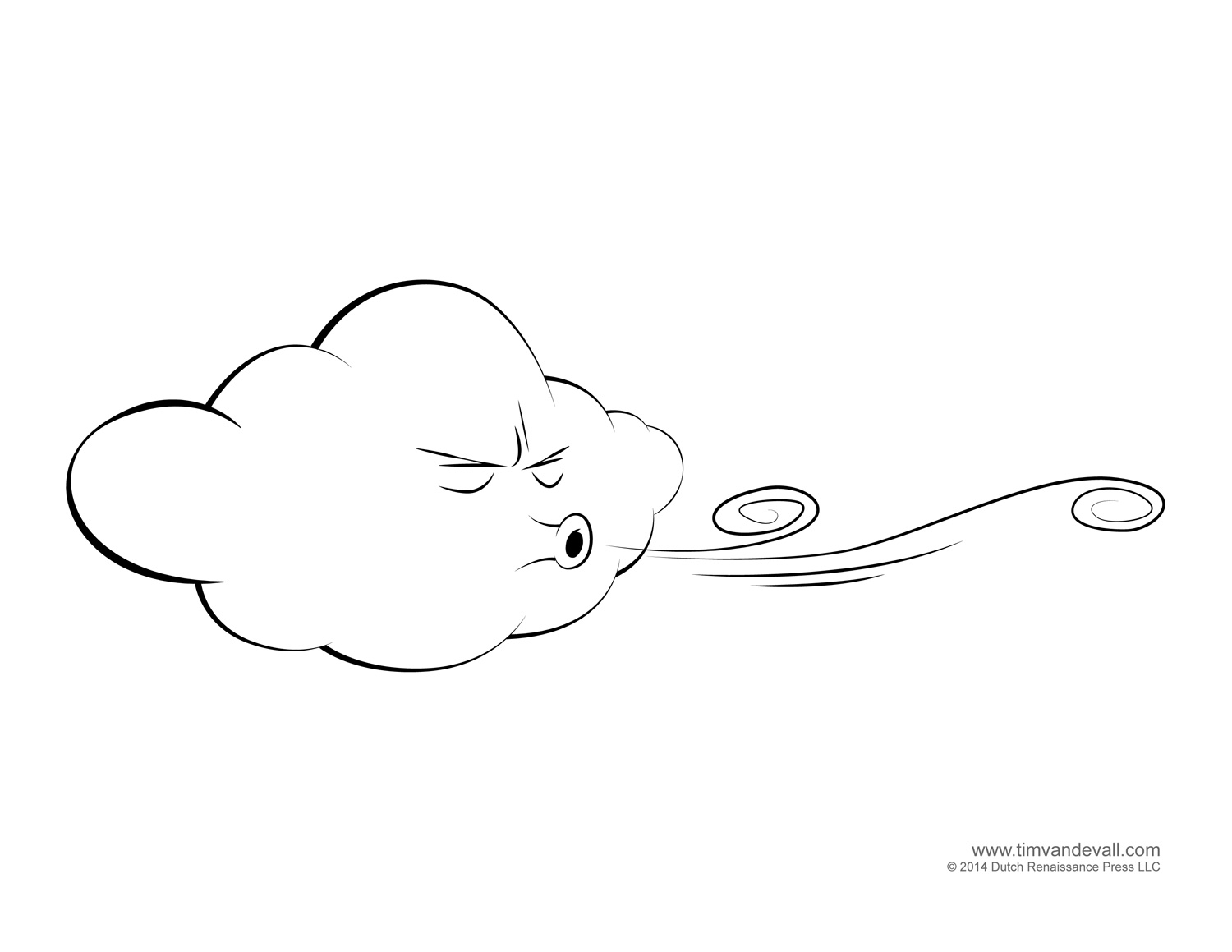 Weather for Kids | Free Cloud Templates and Weather Coloring Pages