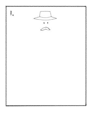 draw a cowboy